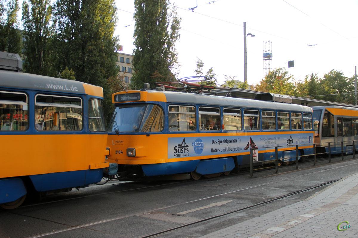 Лейпциг. Tatra T4D-M1 №2184