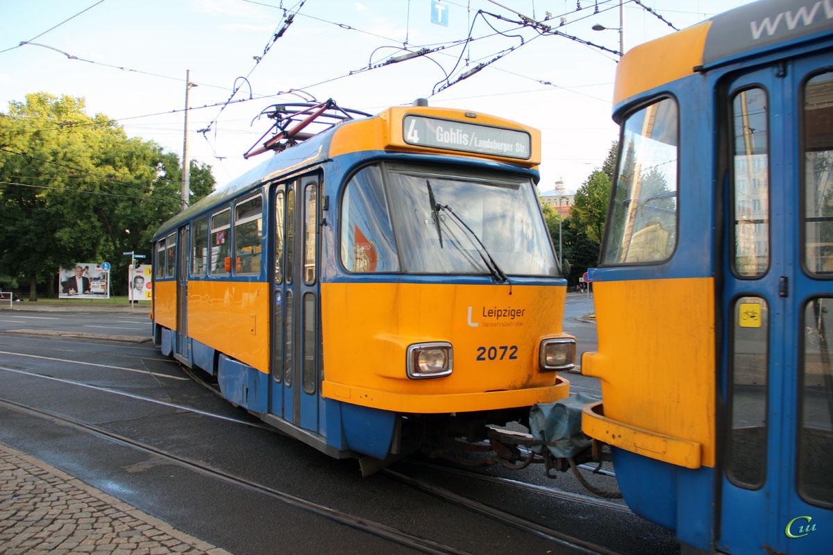 Лейпциг. Tatra T4D-M2 №2072