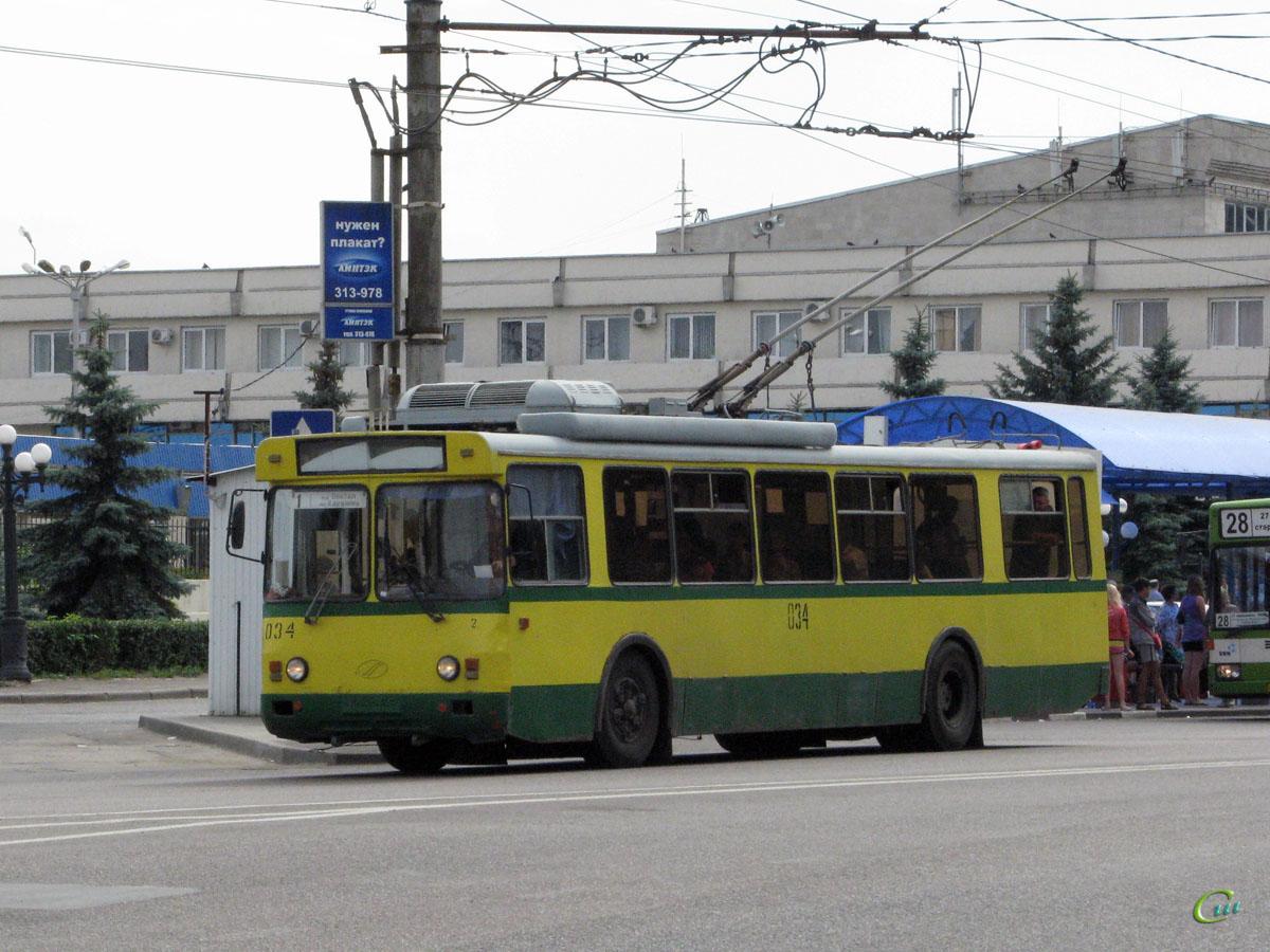 Липецк. БТЗ-5276-04 №034