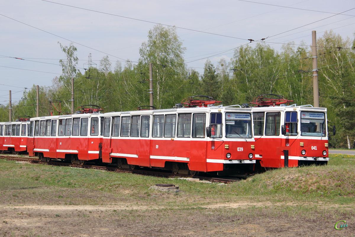 Мозырь. 71-605 (КТМ-5) №039, 71-605 (КТМ-5) №040, 71-605 (КТМ-5) №041