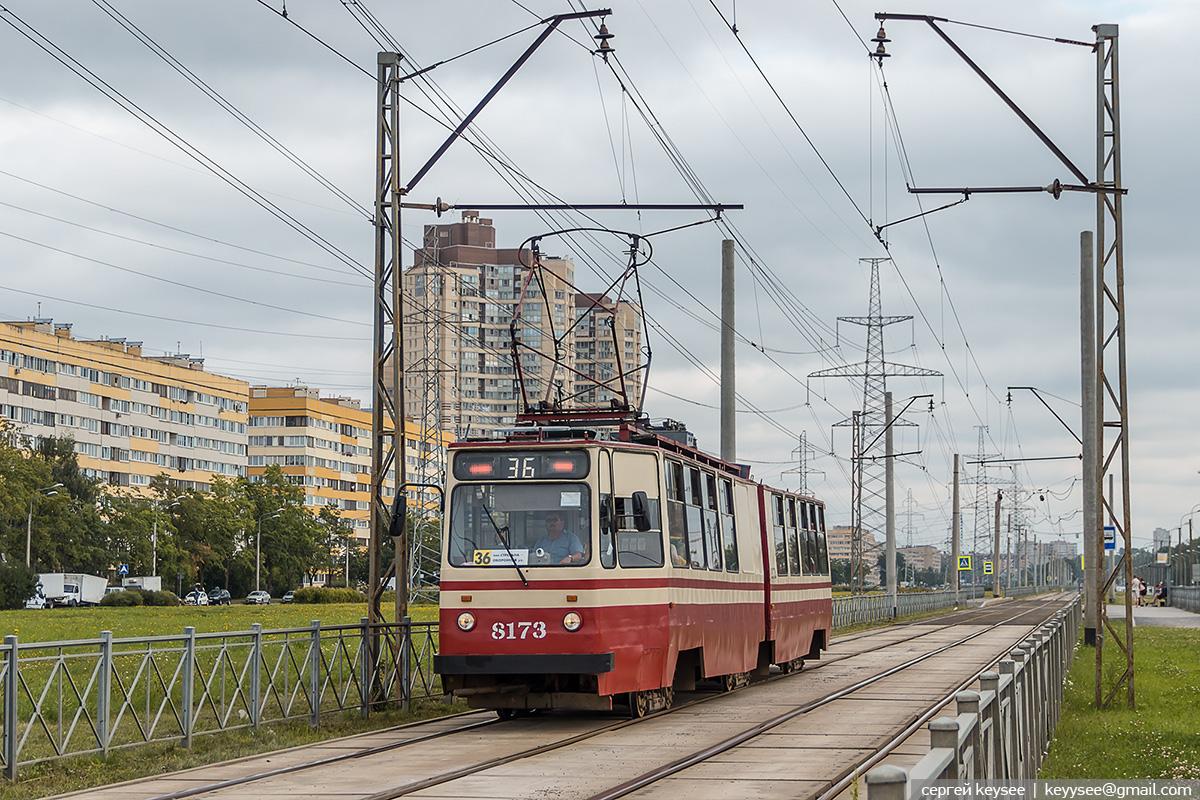Санкт-Петербург. ЛВС-86К №8173