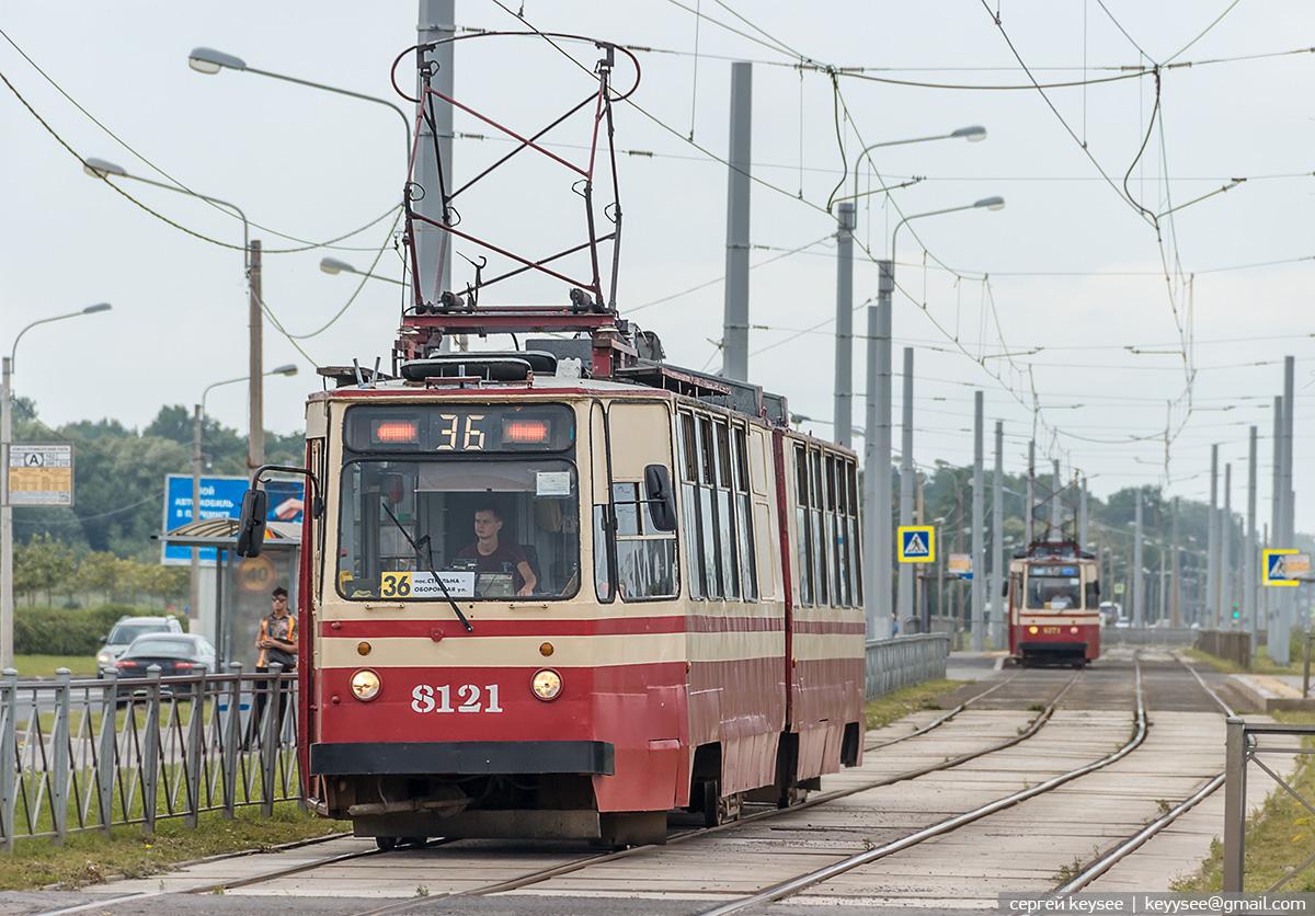 Санкт-Петербург. ЛВС-86К №8121