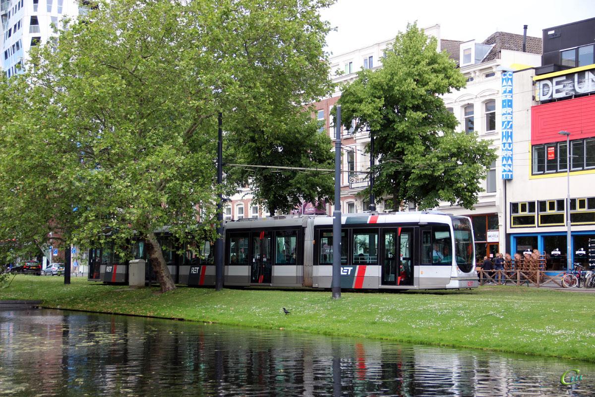 Роттердам. Alstom Citadis 302 №2130