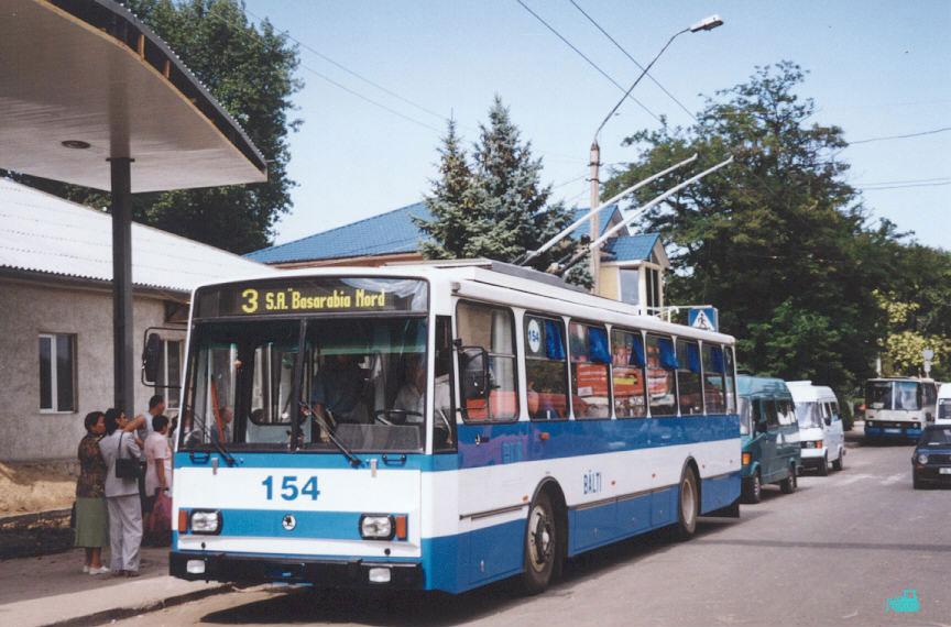 Бельцы. Škoda 14Tr13/6M №154