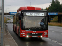 Вильнюс. MAN A23 Lion's City NG313 CNG LLK 378