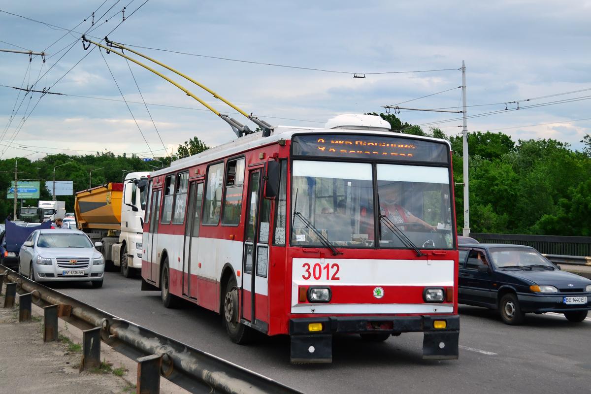 Николаев. Škoda 14TrR №3012