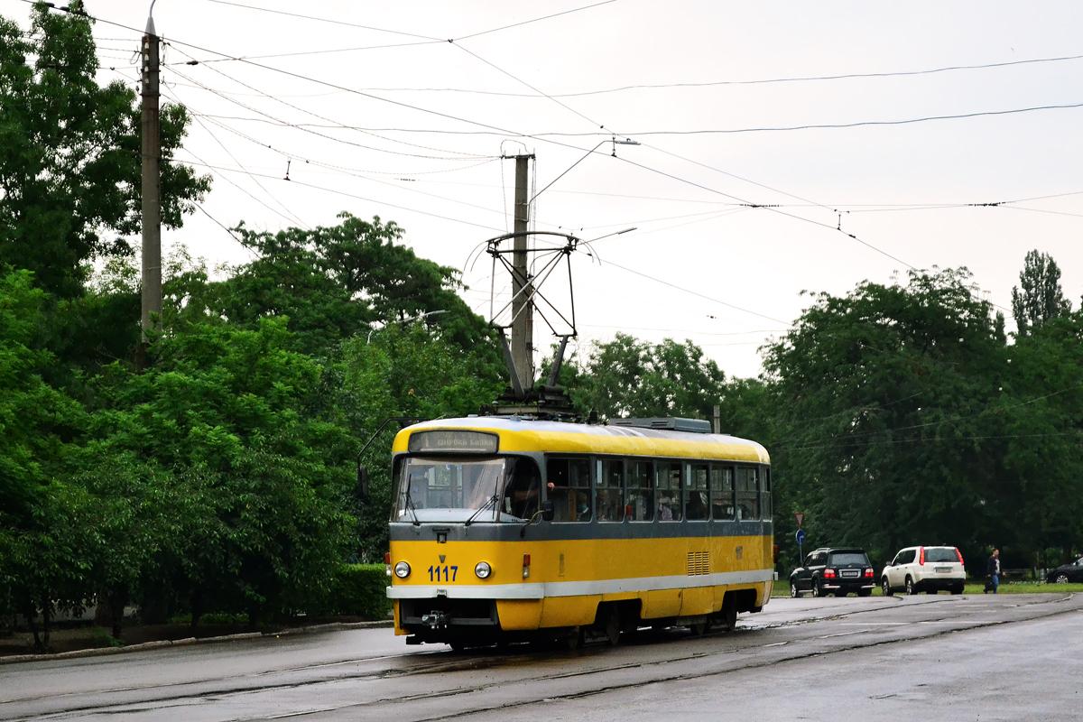 Николаев. Tatra T3M.03 №1117
