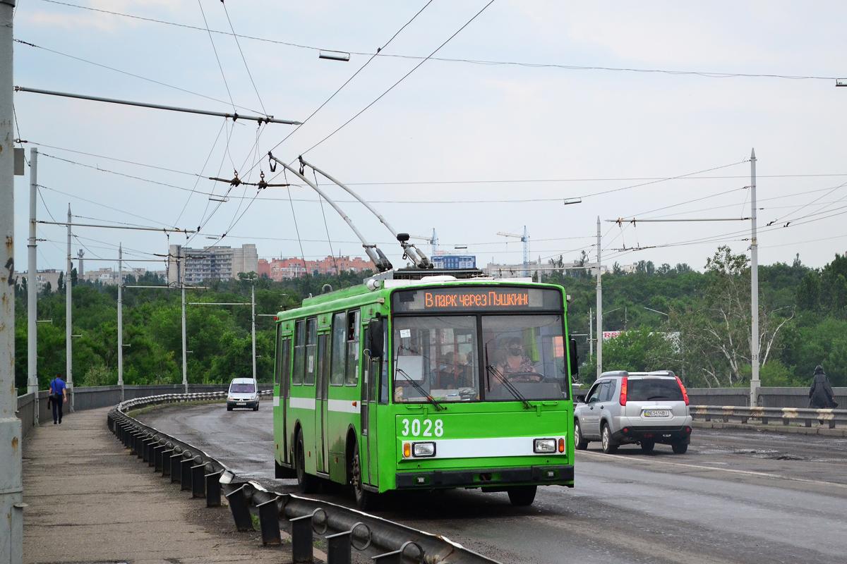 Николаев. Škoda 14TrR №3028