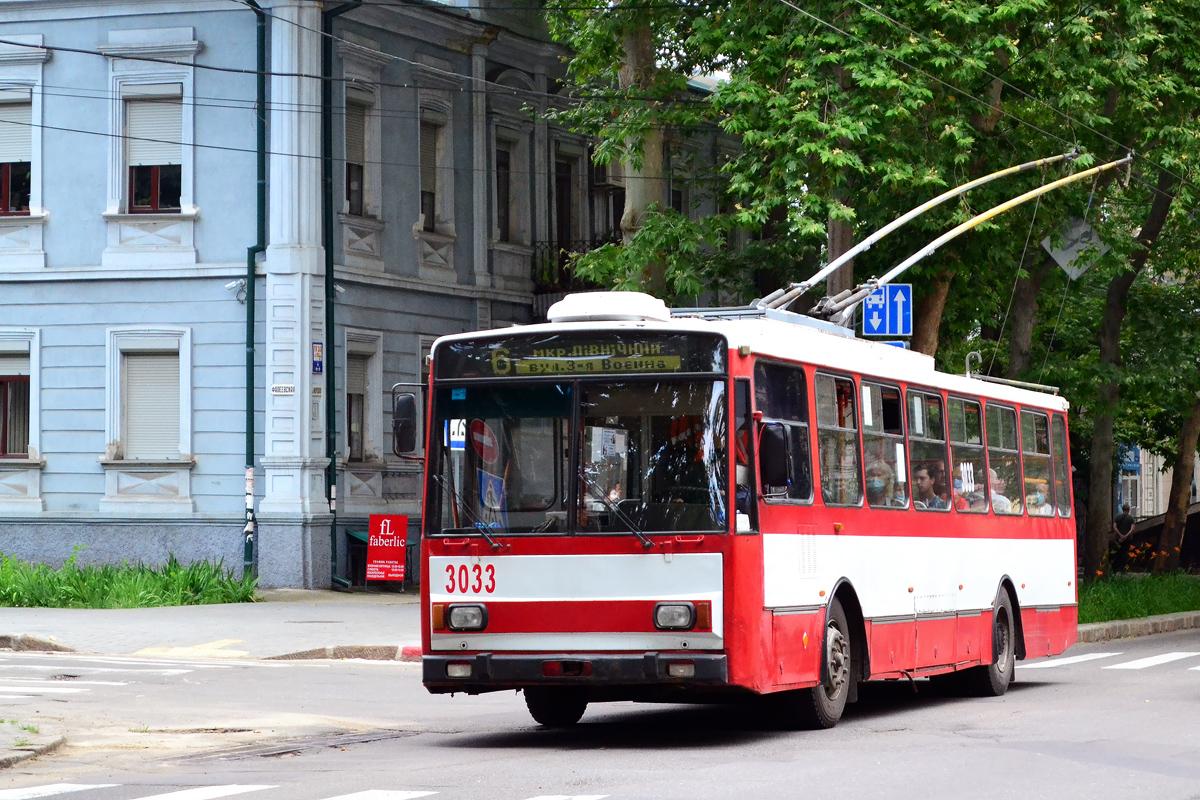 Николаев. Škoda 14TrR №3033