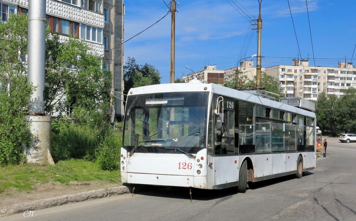 Мурманск. ТролЗа-5265.00 Мегаполис №126