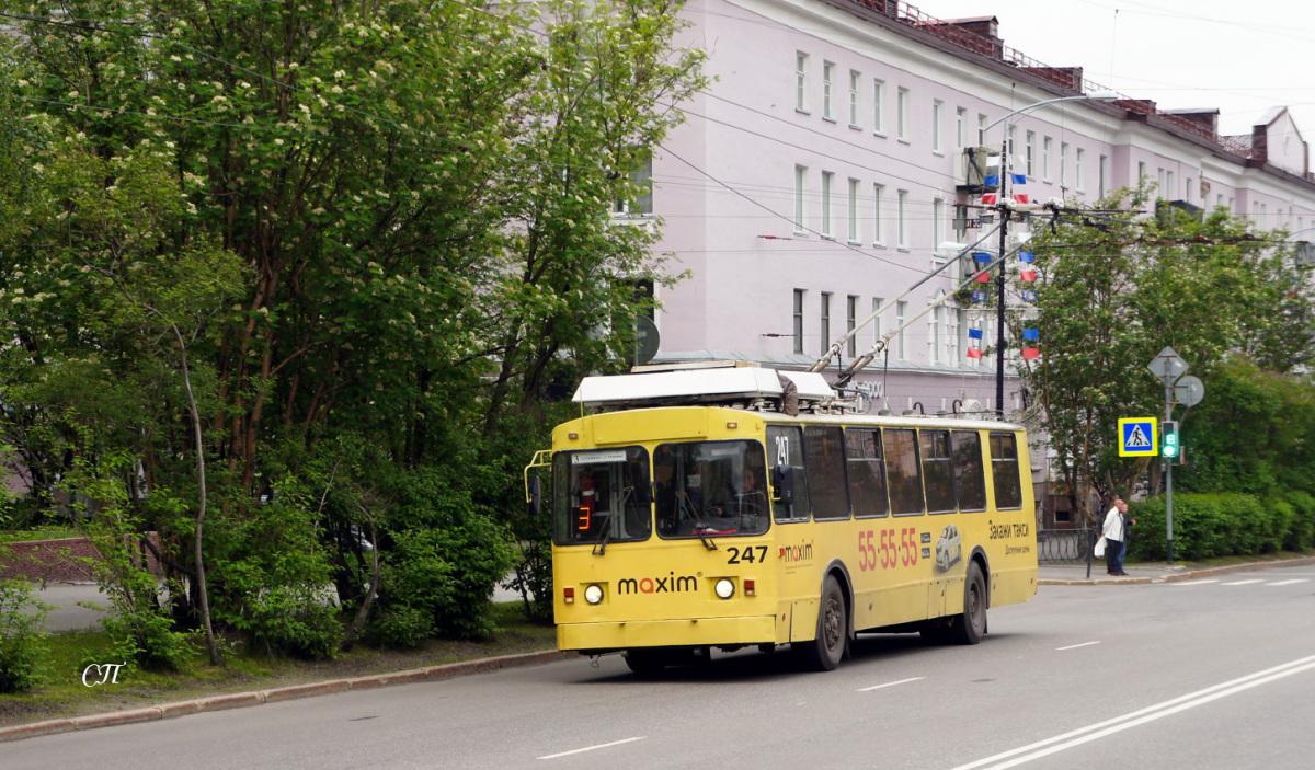 Мурманск. ЗиУ-682 КР Иваново №247