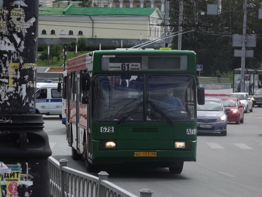 Екатеринбург. ГолАЗ-АКА-5225 ат131