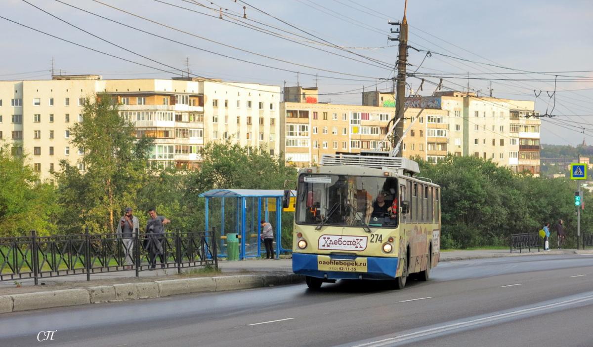 Мурманск. ВЗТМ-5284.02 №274