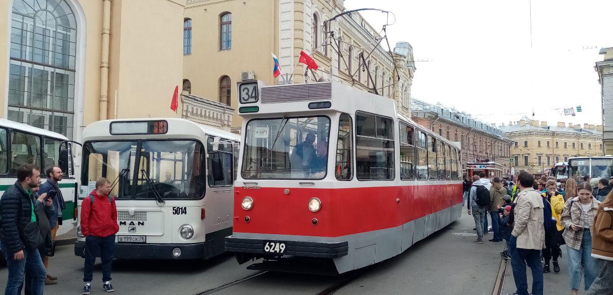 Санкт-Петербург. ЛМ-68 №6249, MAN SL200 в199ск