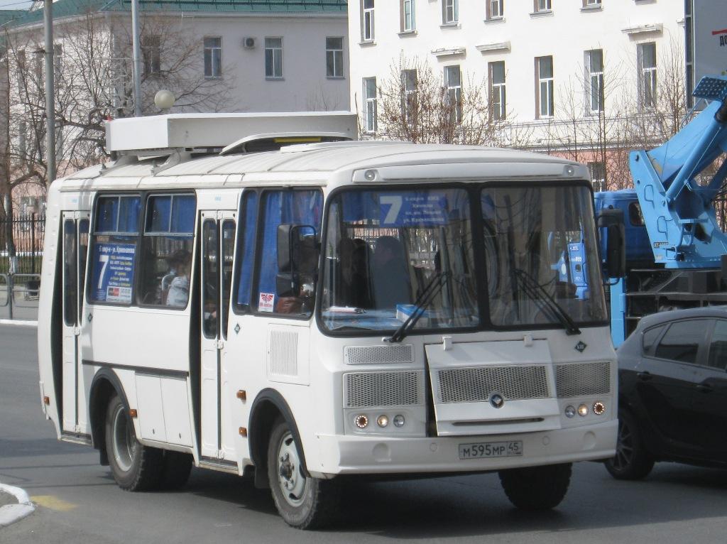 Курган. ПАЗ-32054 м595мр