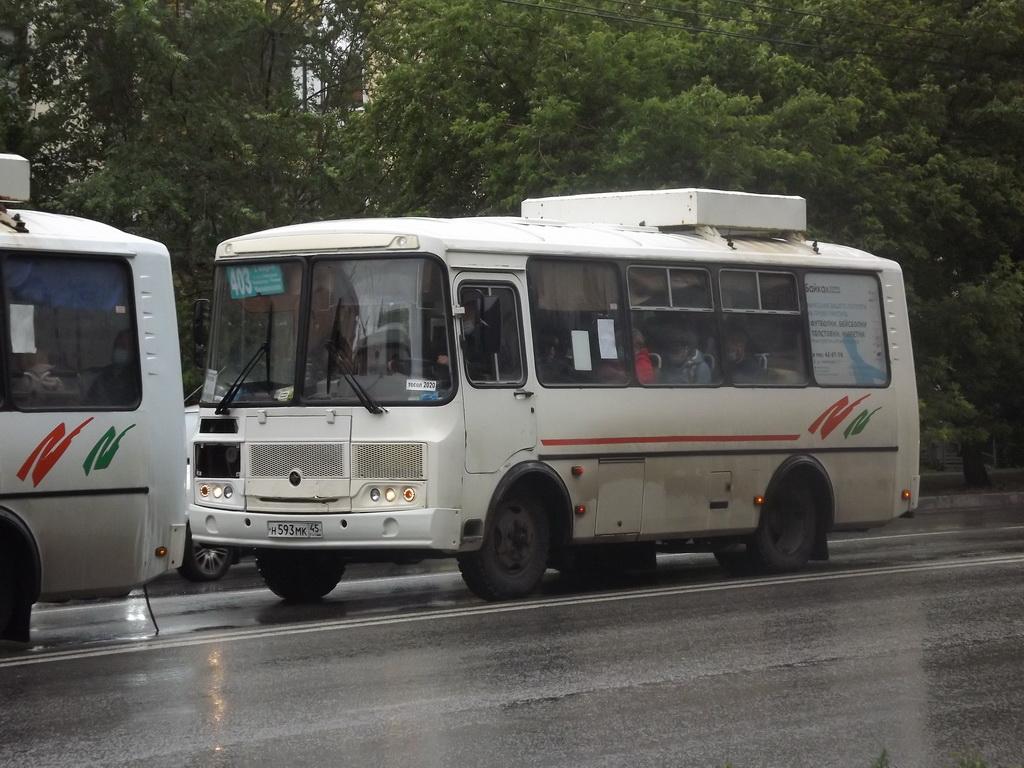 Курган. ПАЗ-32054 н593мк