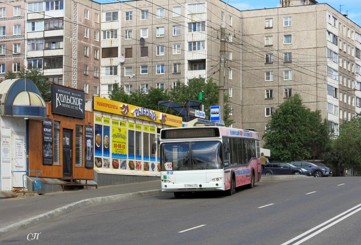 Мурманск. МАЗ-103.485 р799мс
