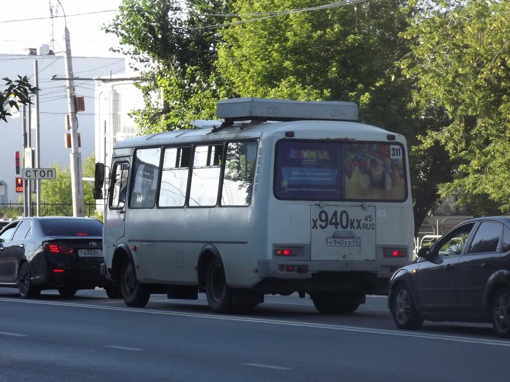 Курган. ПАЗ-32054 х940кх