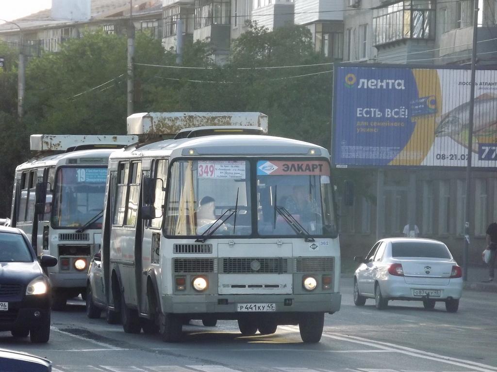 Курган. ПАЗ-32054 р441ку