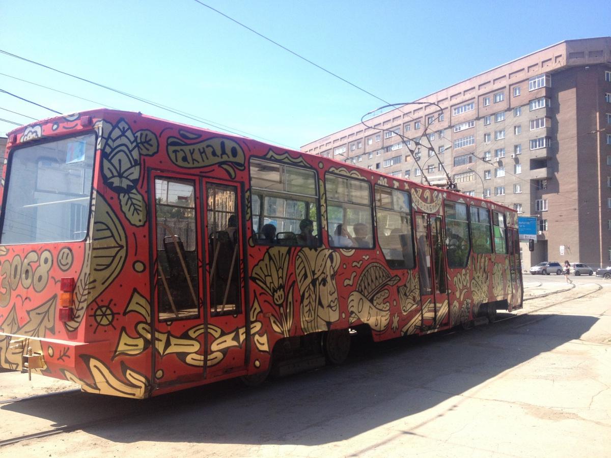 Новосибирск. 71-605 (КТМ-5) №3068