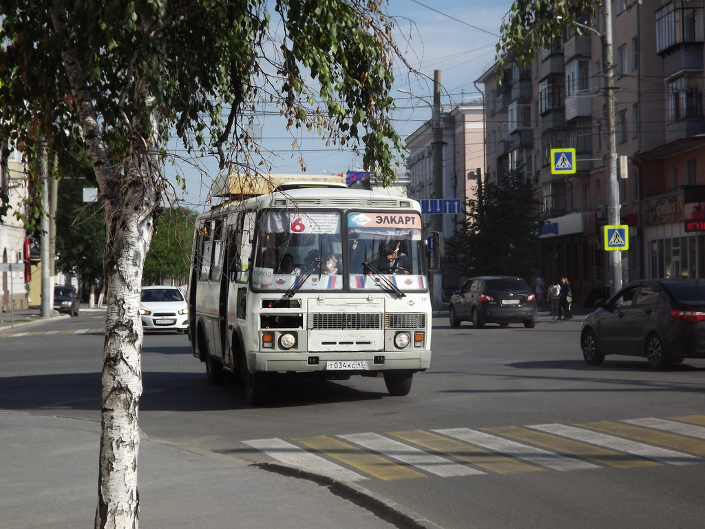 Курган. ПАЗ-32054 т034кс