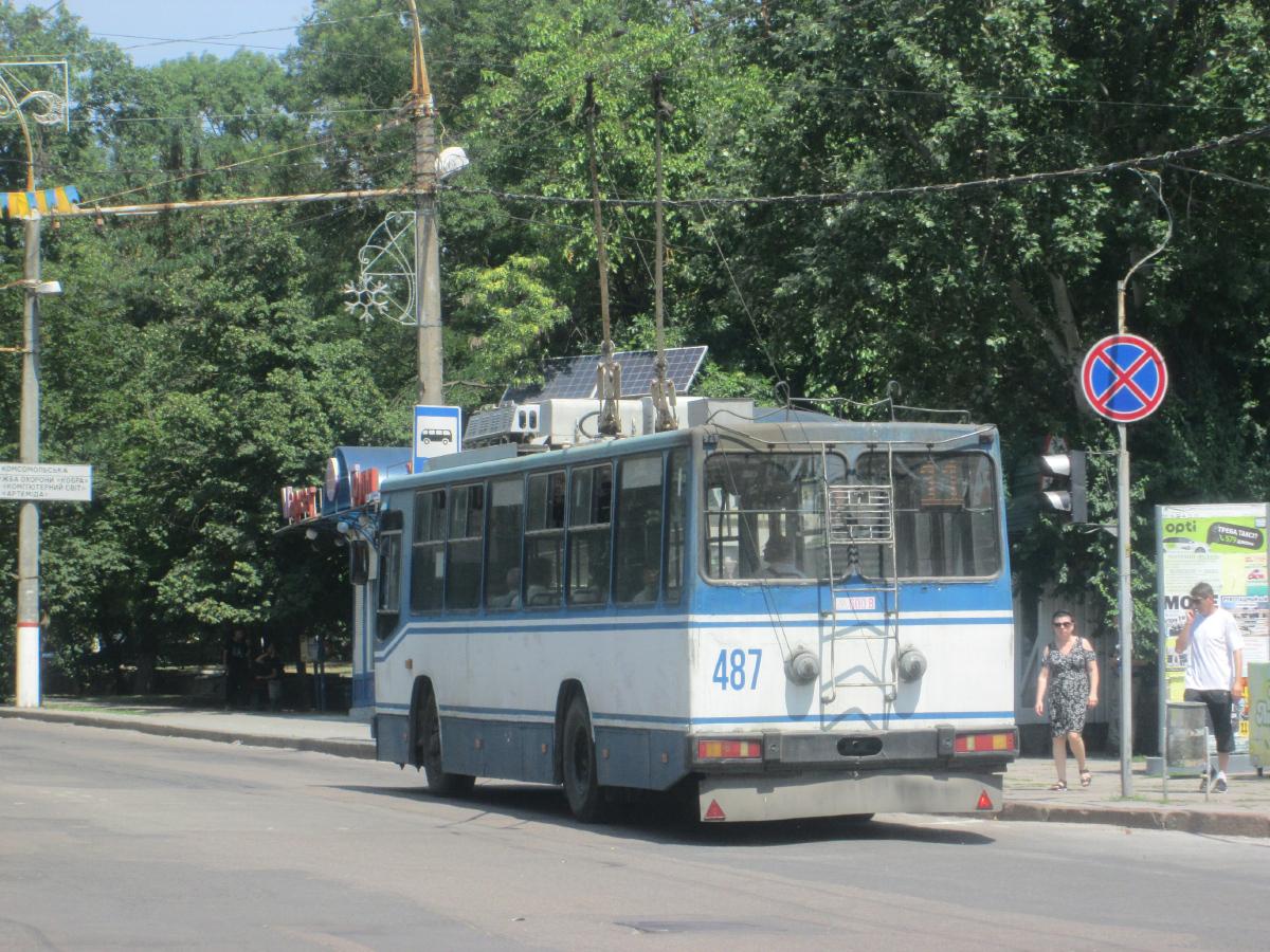Херсон. ЮМЗ-Т2 №487
