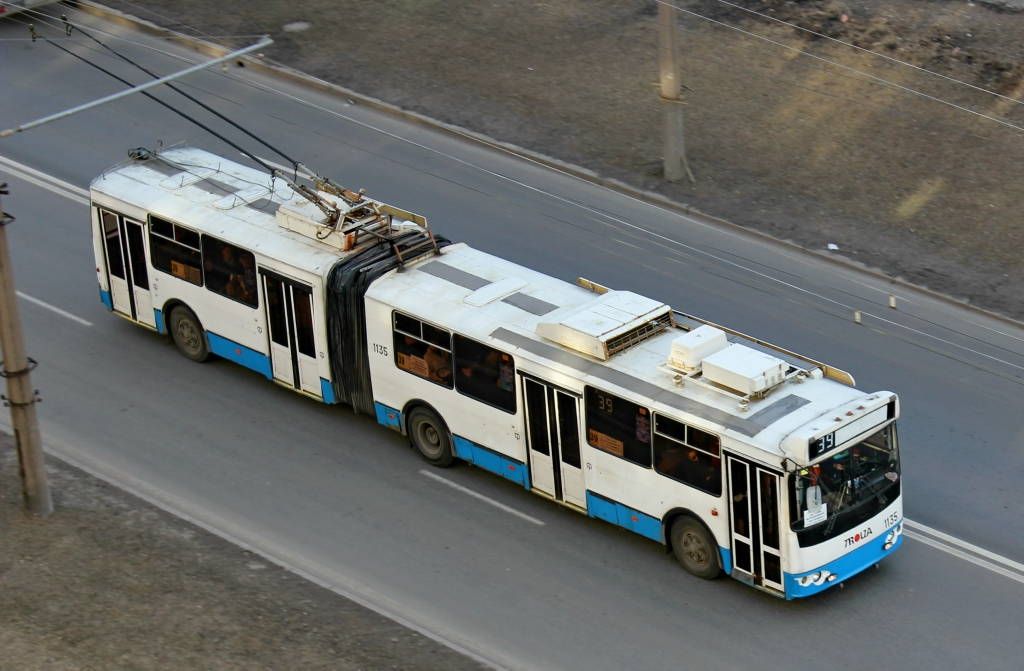 Санкт-Петербург. ТролЗа-62052 №1135