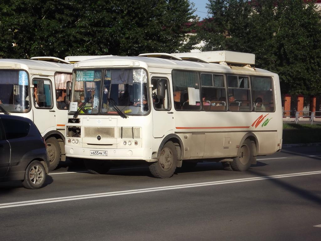 Курган. ПАЗ-32054 н655мк