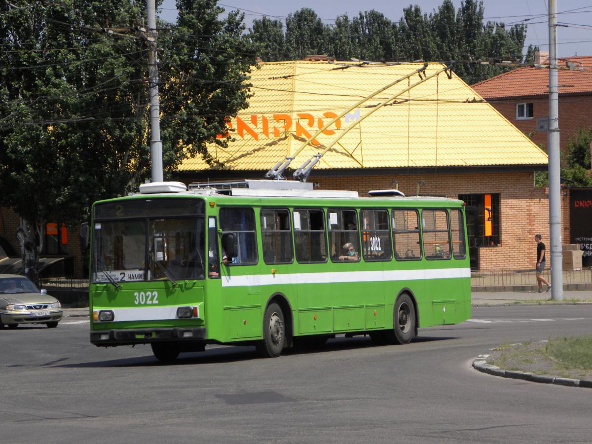 Николаев. Škoda 14TrR №3022