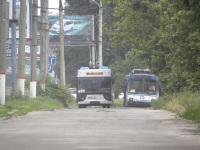 Херсон. ЛАЗ-Е183 №489, ЮМЗ-Т2 №479