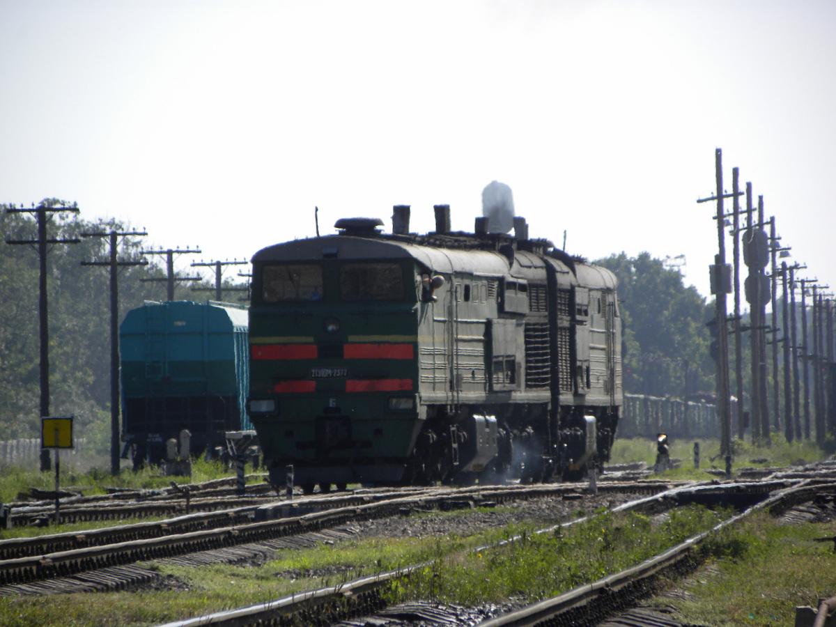 Николаев. 2ТЭ10М-2377
