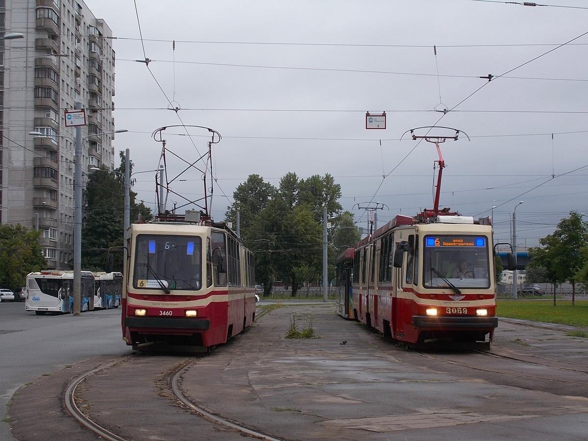 Санкт-Петербург. ЛВС-86К-М №3460, ЛВС-86М2 №3059
