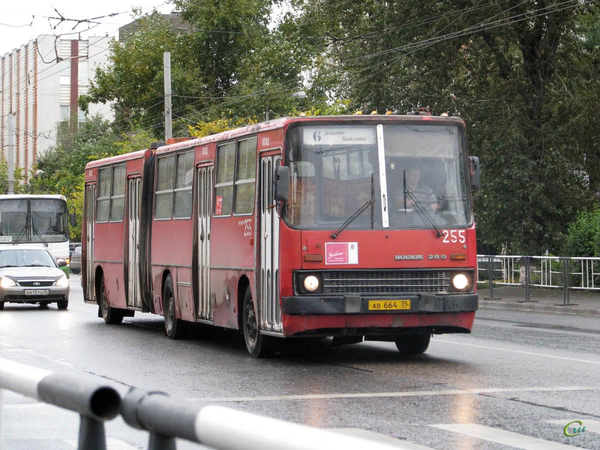 Вологда. Ikarus 280.33 ав664