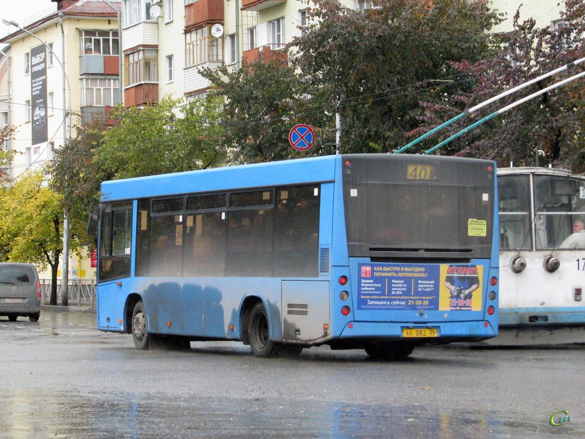 Вологда. МАЗ-206.060 ак382