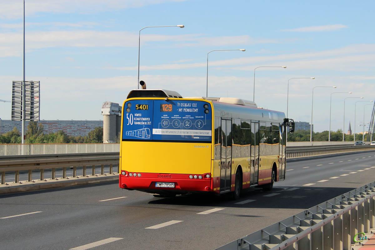 Вроцлав. Solaris Urbino 12 DWR 78565