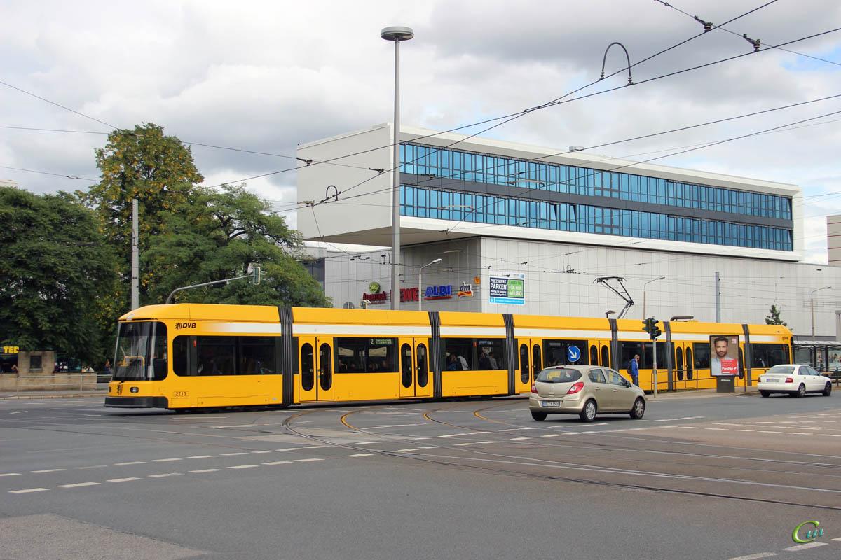 Дрезден. Bombardier NGT8DD №2713