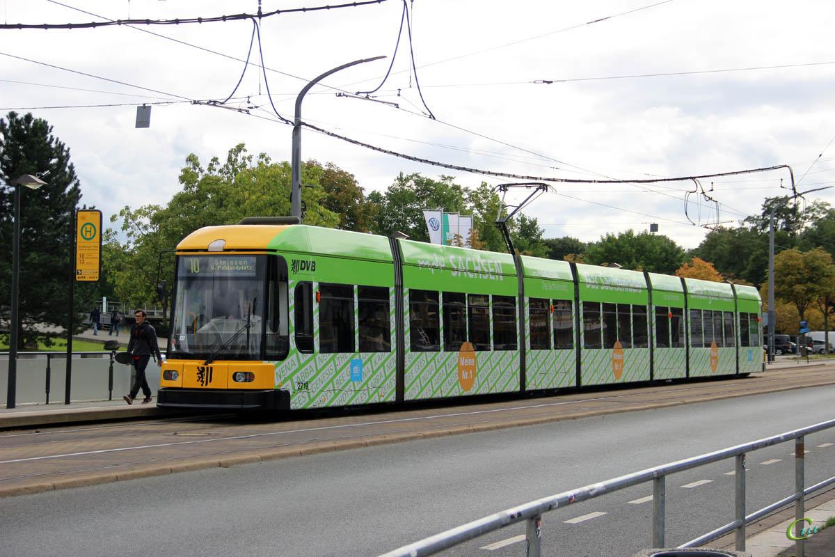 Дрезден. Bombardier NGT8DD №2719