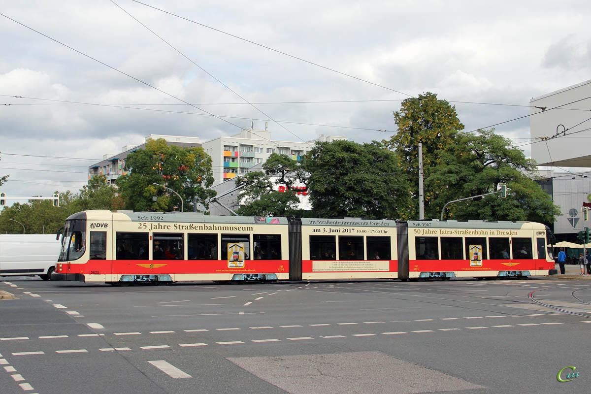 Дрезден. Bombardier NGTD8DD №2625