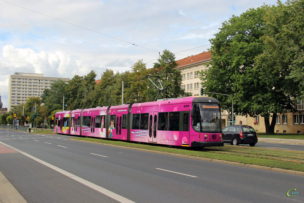 Дрезден. Bombardier NGTD12DD №2810