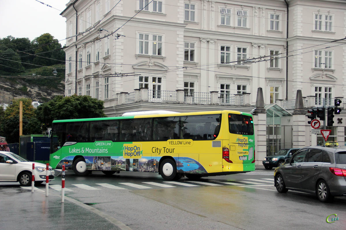 Зальцбург. Setra S415H S 627 TK