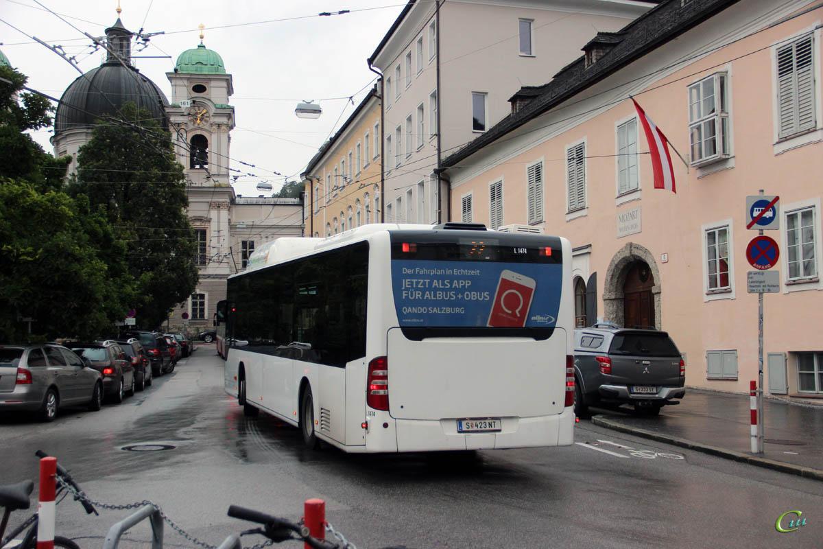 Зальцбург. Mercedes-Benz O530 Citaro CNG S 423 NT