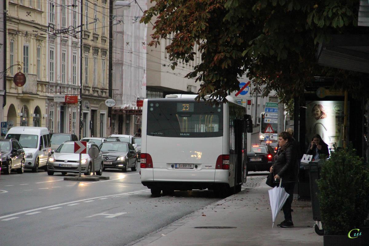 Зальцбург. MAN A47 Lion's City M NL293 S 991 TH