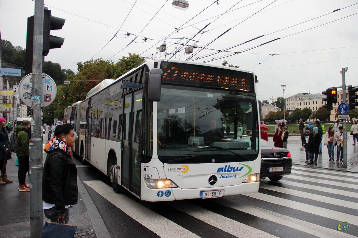 Зальцбург. Mercedes-Benz O530 Citaro G CNG S 168 TF