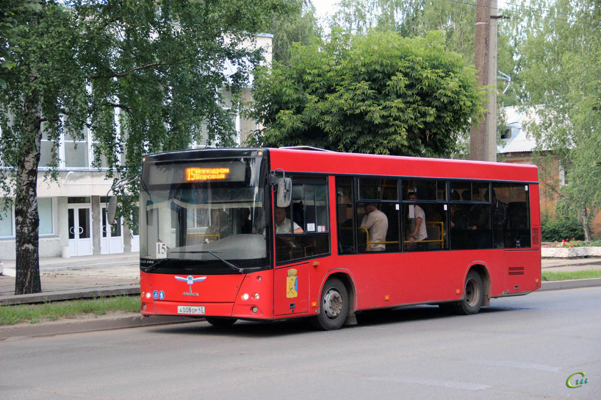 Киров. МАЗ-206.068 а008ор