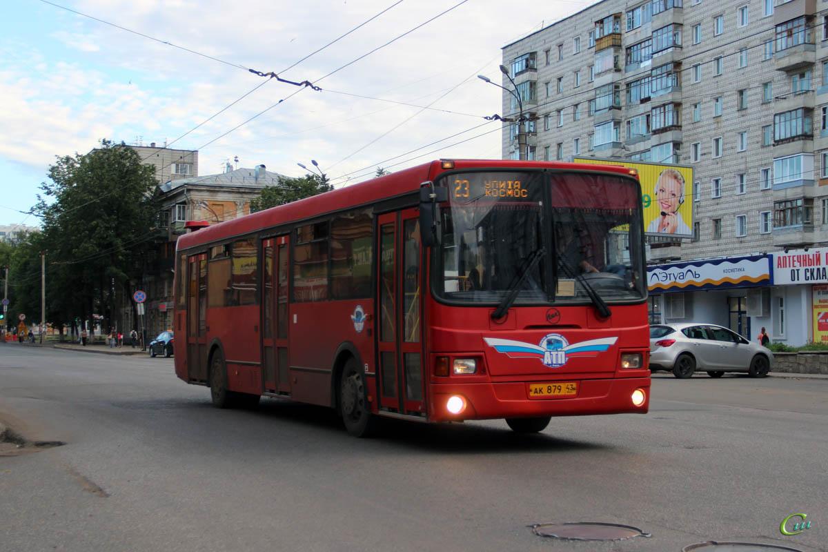 Киров. ЛиАЗ-5256.53 ак879