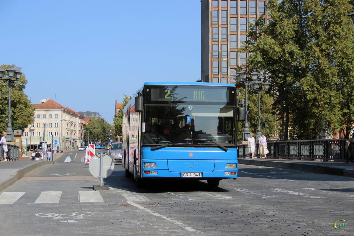 Клайпеда. MAN A20 NÜ263 GRJ 341