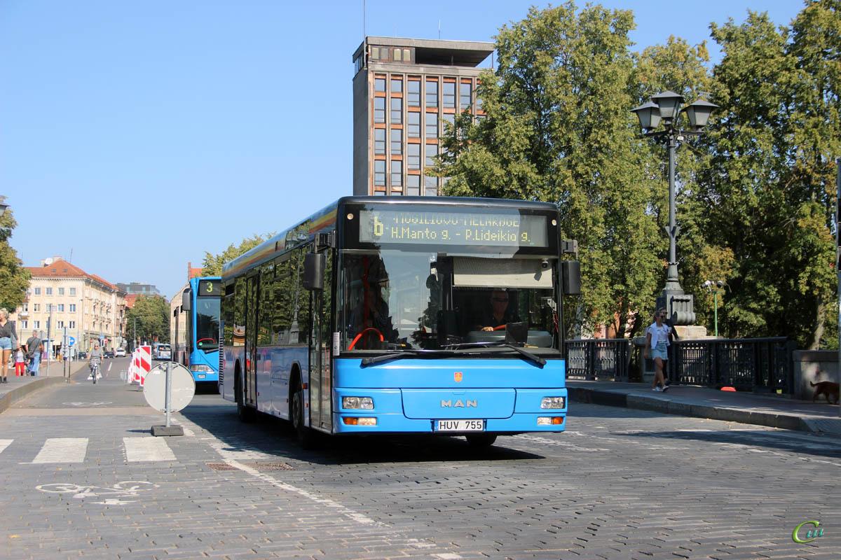 Клайпеда. MAN NL223 HUV 755