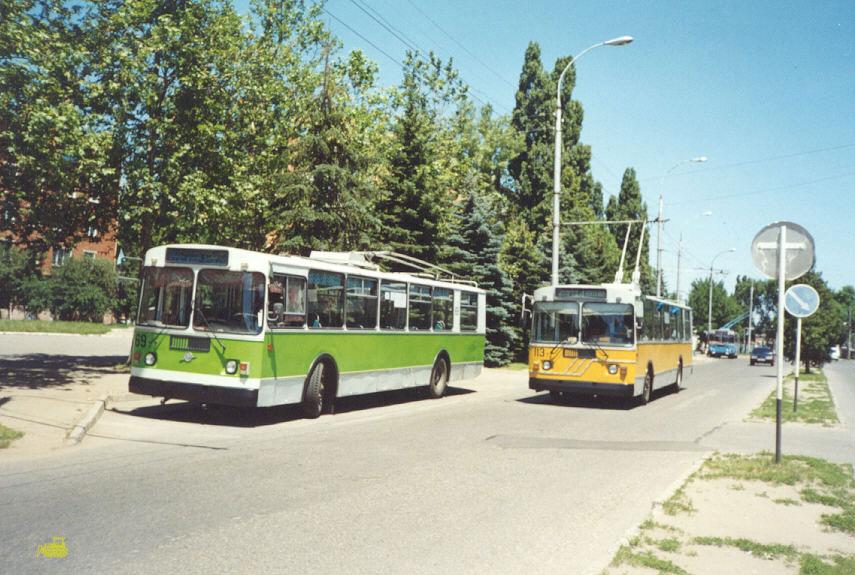 Майкоп. ЗиУ-682Г-015 №69, ЗиУ-682Г00 №113