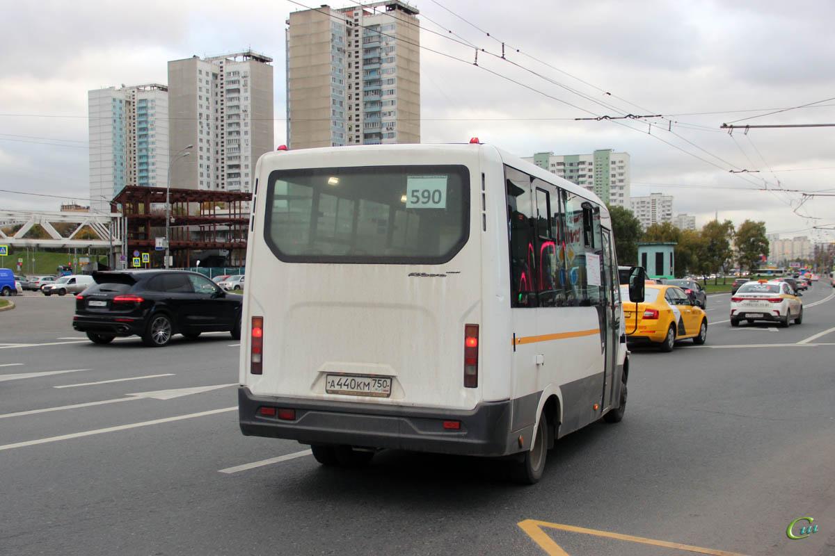 Москва. ГАЗель Next а440км