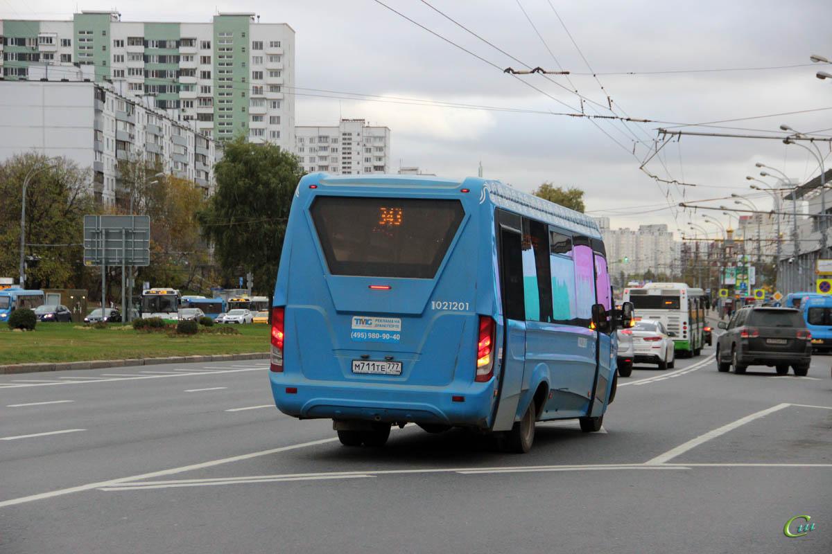 Москва. Нижегородец-VSN700 (IVECO Daily) м711те